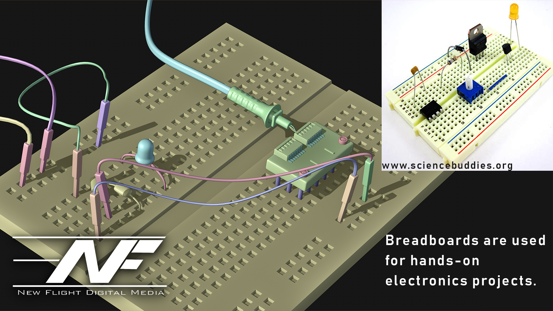 Up Congratulations You39ve Assembled Your First Breadboard Circuit